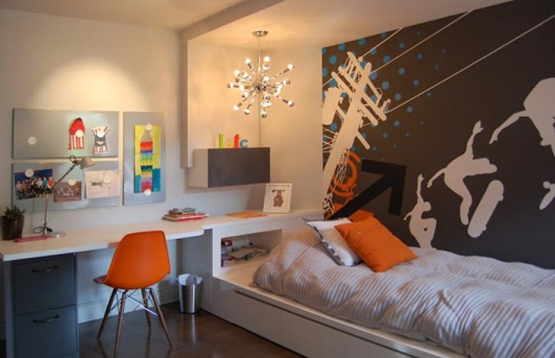 интерьер для подростковой комнаты мальчика фото