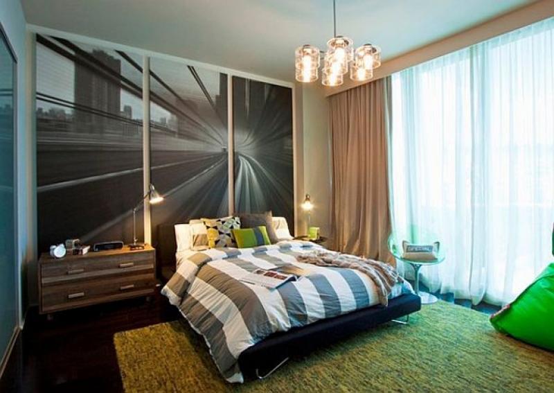 Интерьер спальни для подростка фото