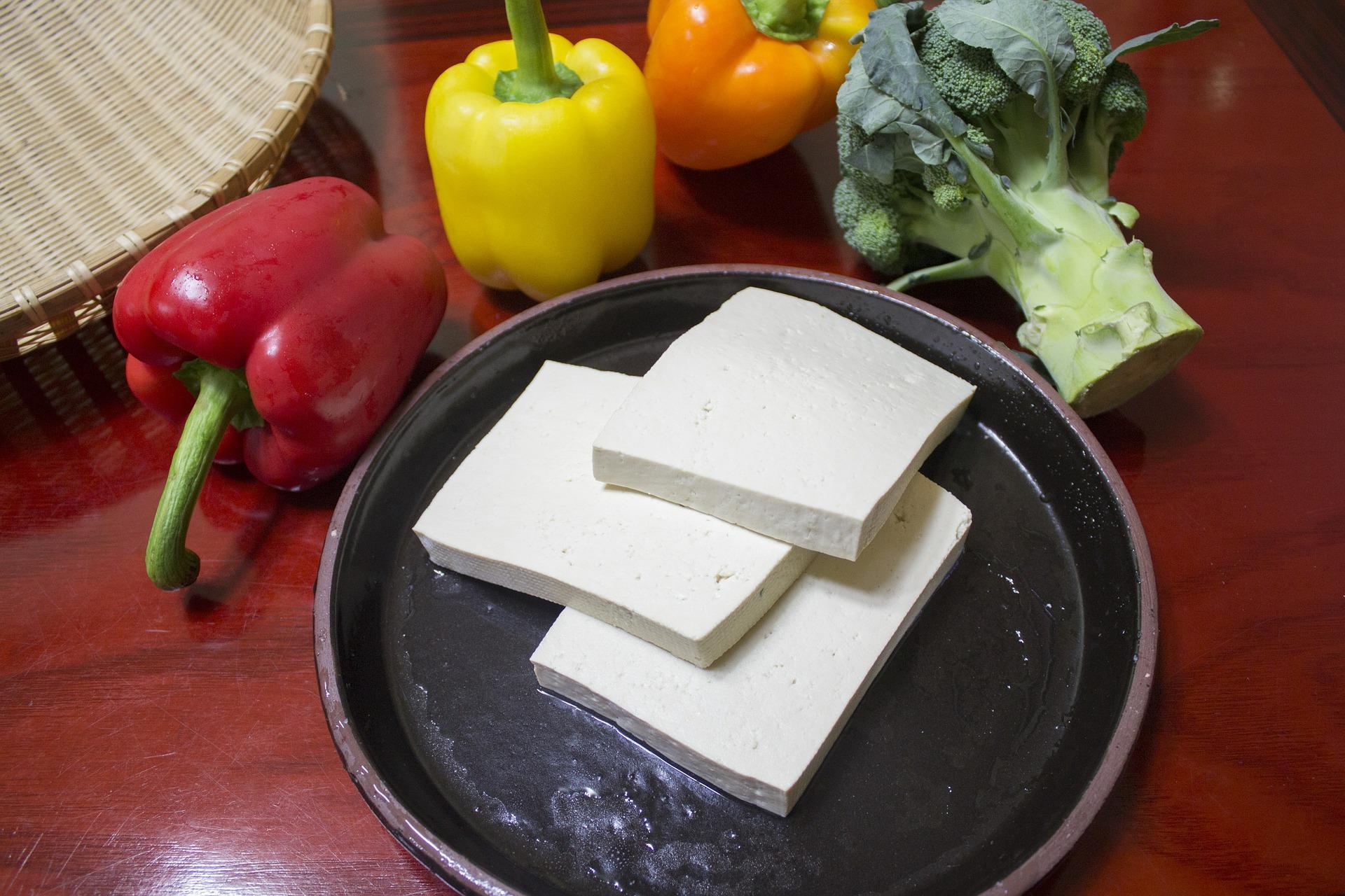 Ázsiai ihletésű grillezett tofu
