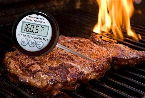 Miért jó egy digitális húshőmérő a grillen?