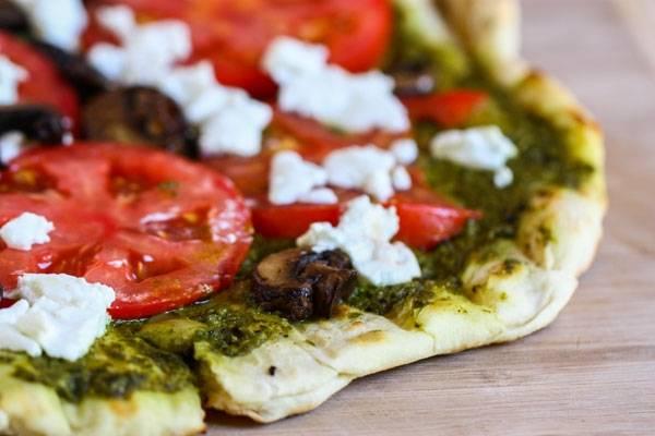 Pesztós pizza