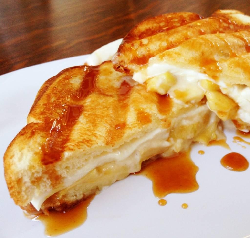 Grillezett sajtos szendvics