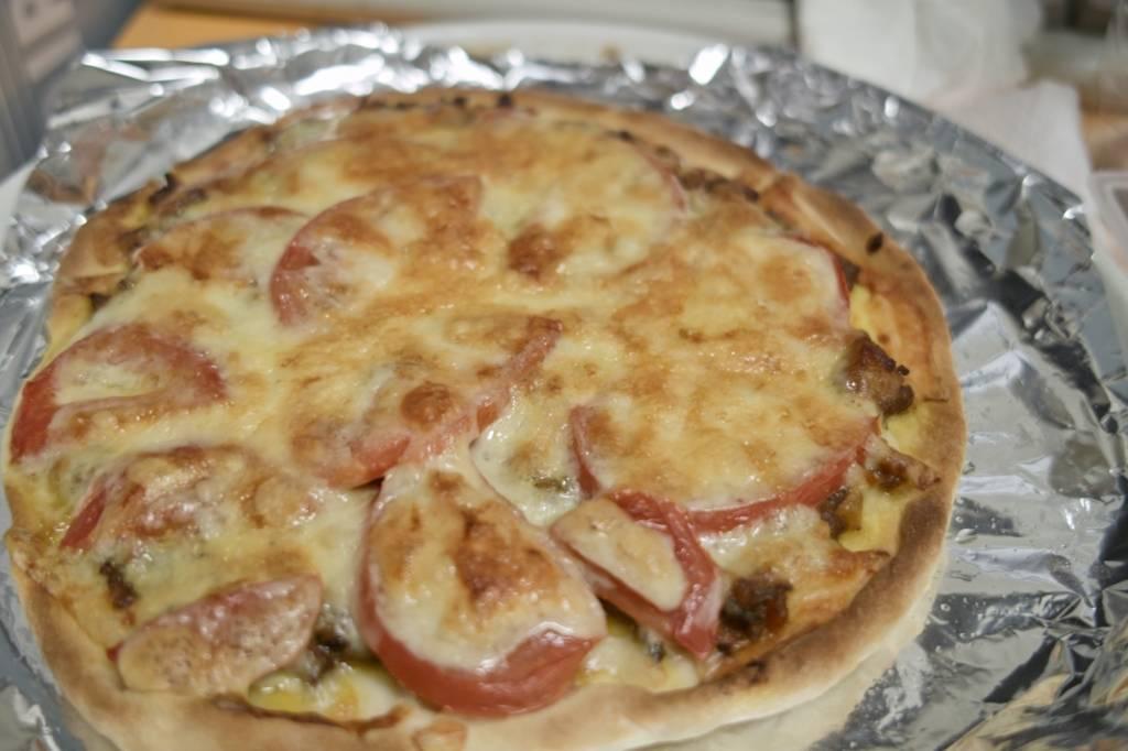 Csirkés, korianderes pizza