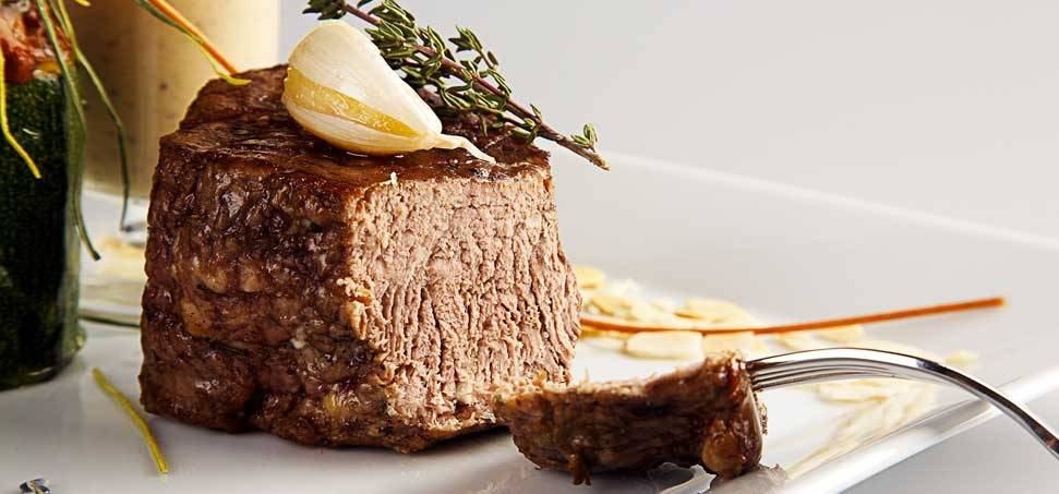 Krumpli saláta bárányhússal
