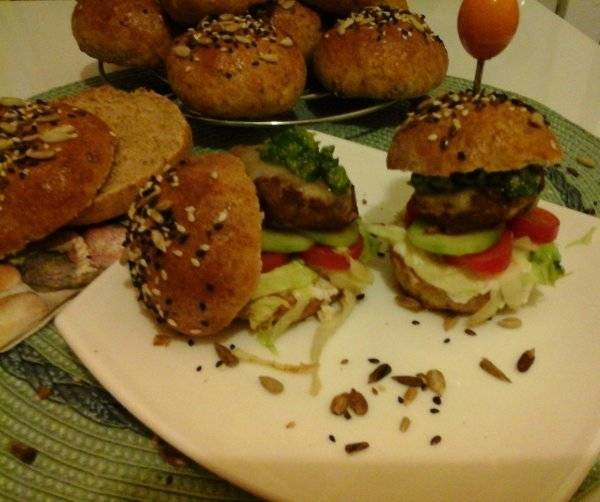 Avokádós Keto Burger
