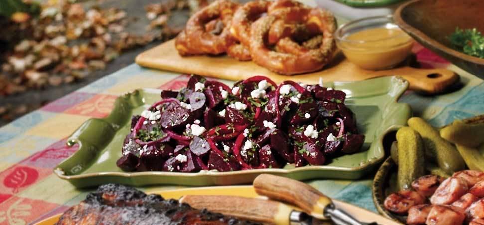 Grillezett cékla saláta