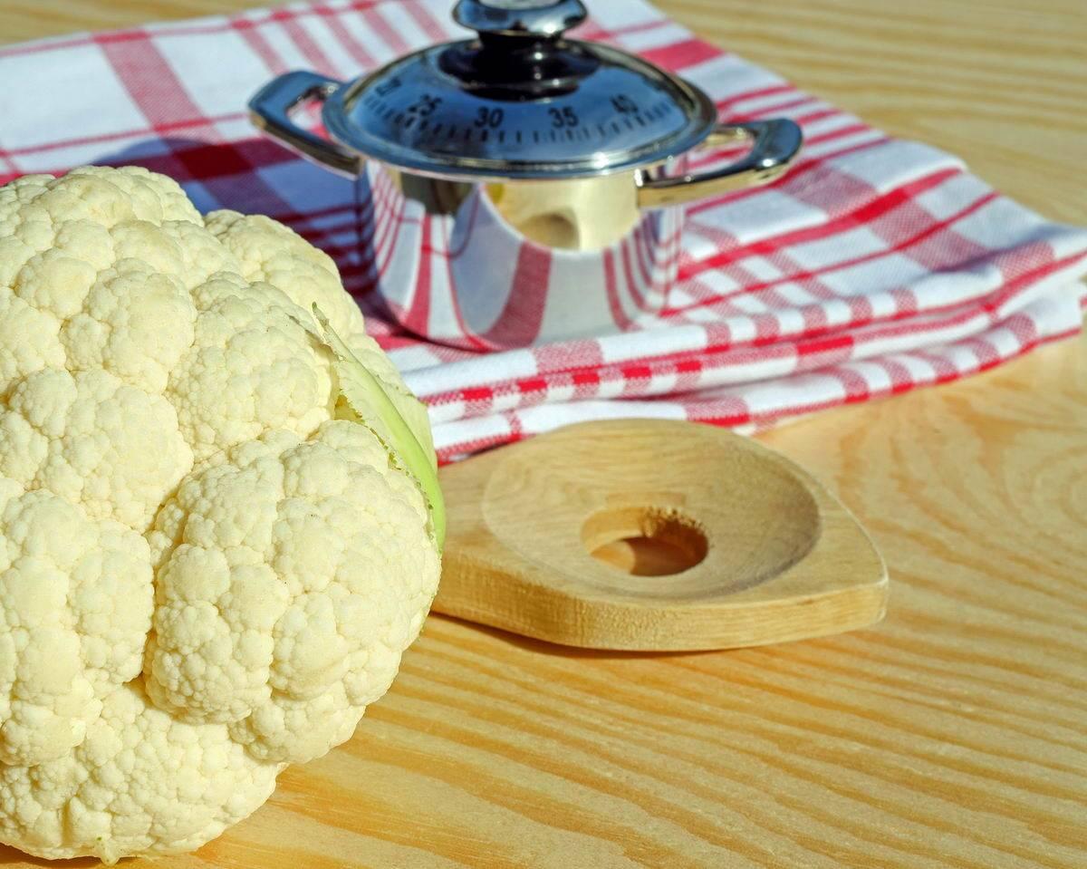 Grillezett karfiol sajttal