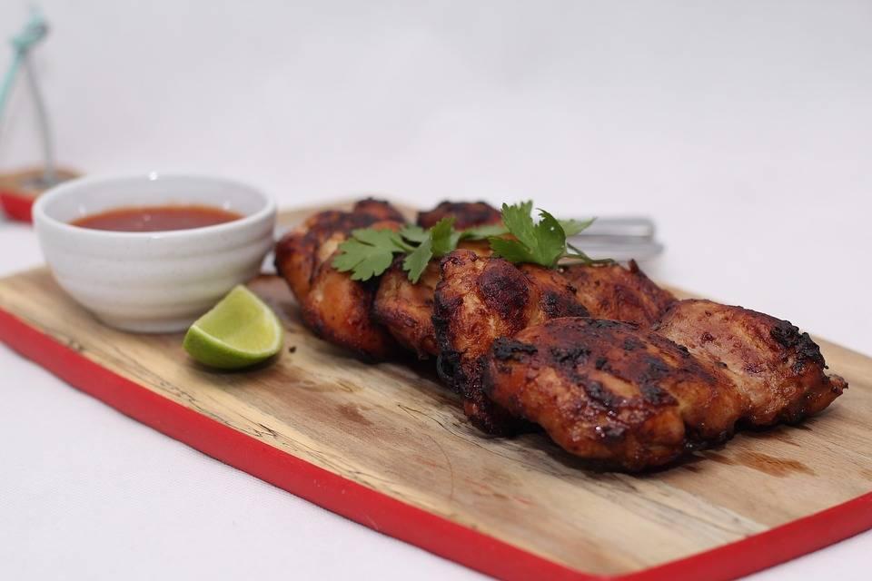 Trópusi grill csirke