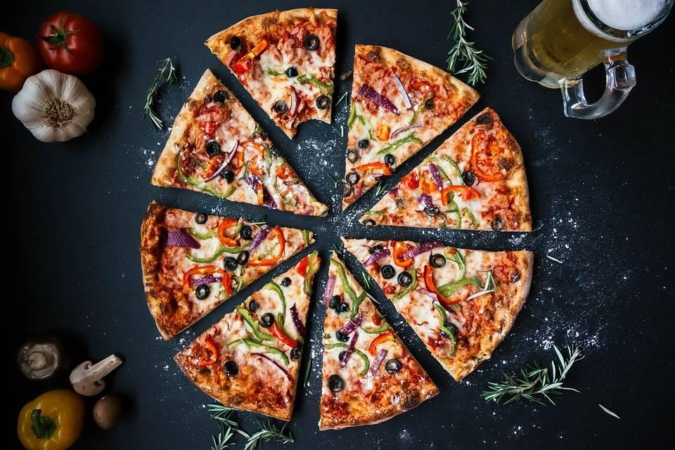 Grillezett házi pizza