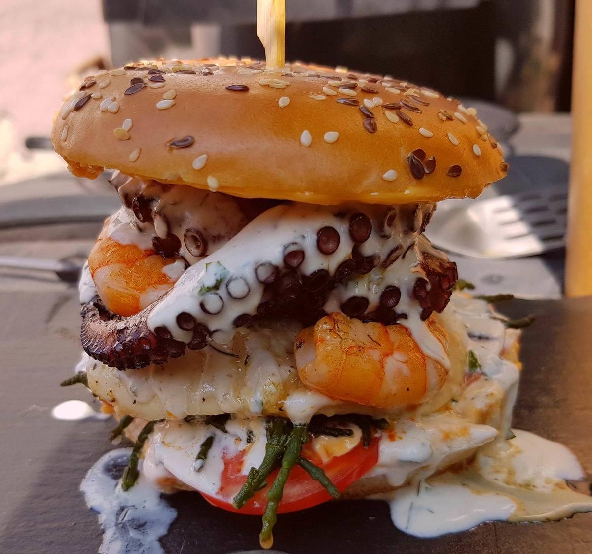 VIDEÓRECEPT! Octopussy burger