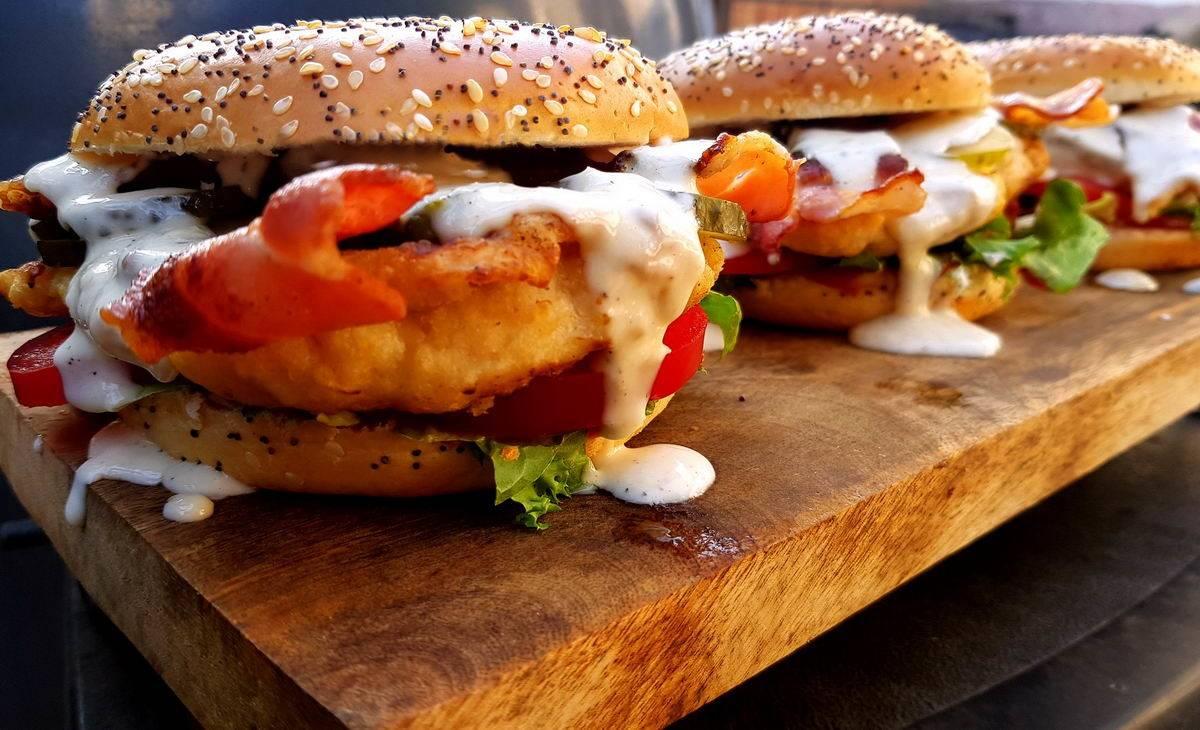 Alabama Chicken Burger