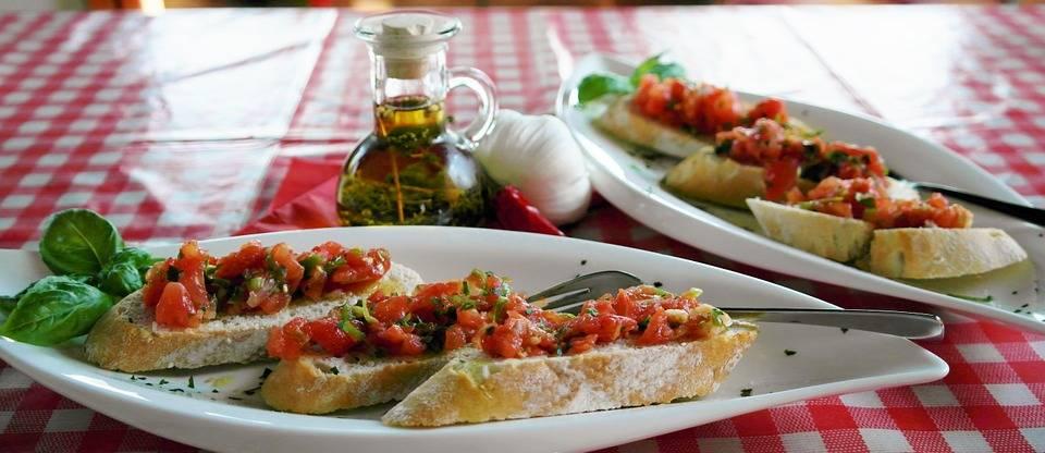 Bruscetta görög módra