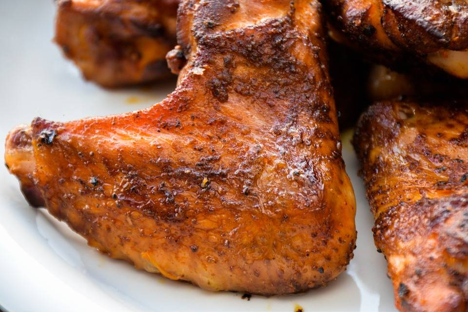 Grill csirke fehér BBQ szósszal
