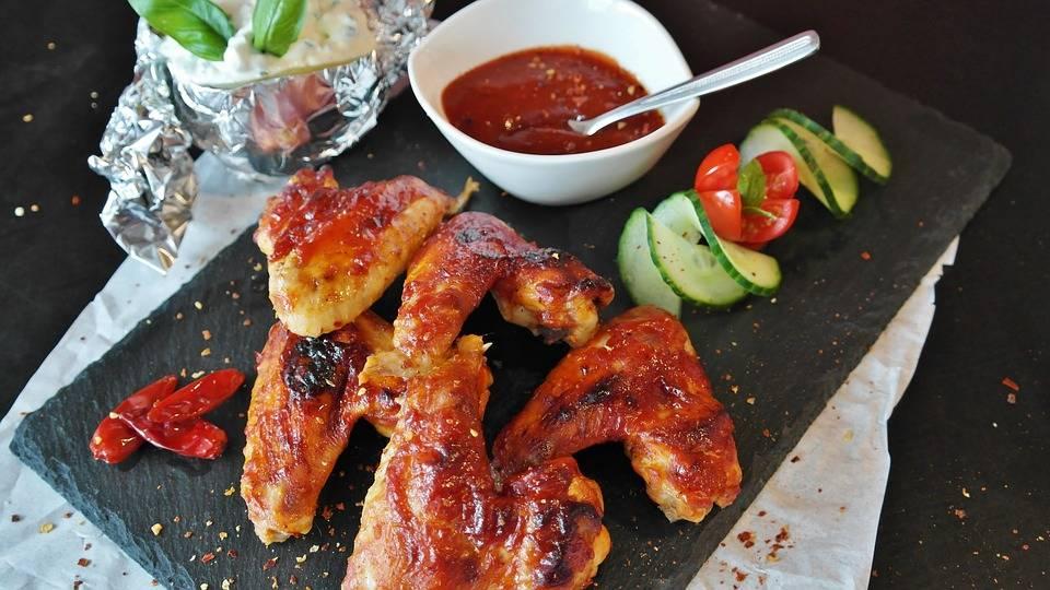 Grill csirkeszárnyak fél óra alatt