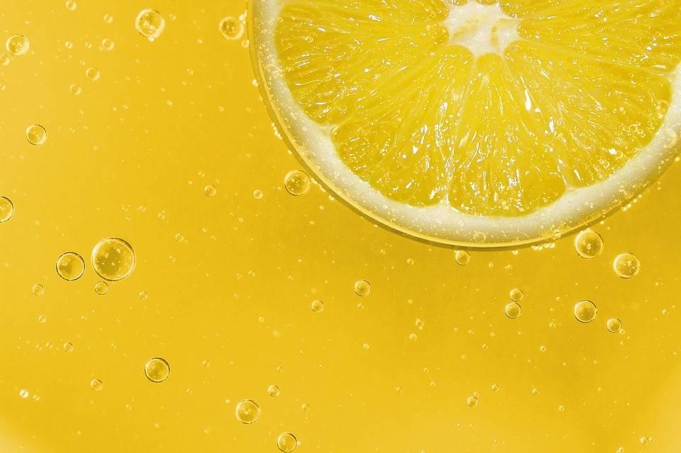 Bodzaszörp grillezett citrommal