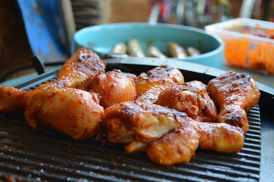 Grillezett gyors csirke