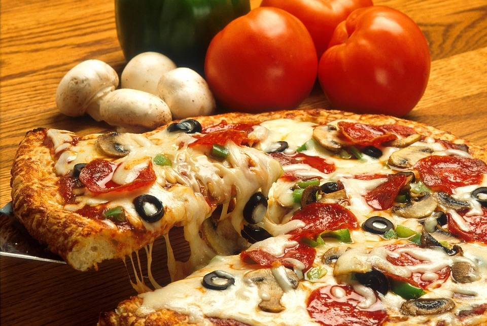 Grillezett pizza