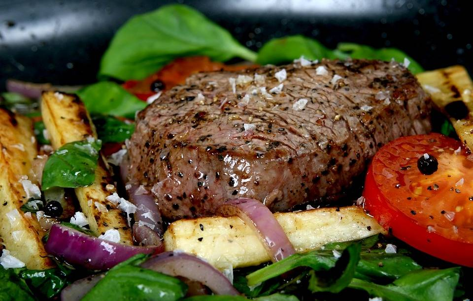 Pácolt steak