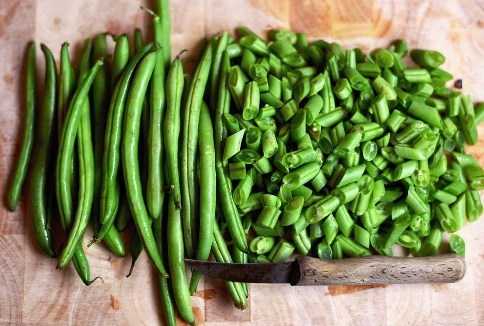 Grillezett zöldbab