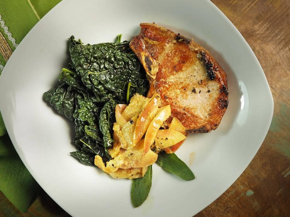 Grillezett sertés szelet 20 perc alatt