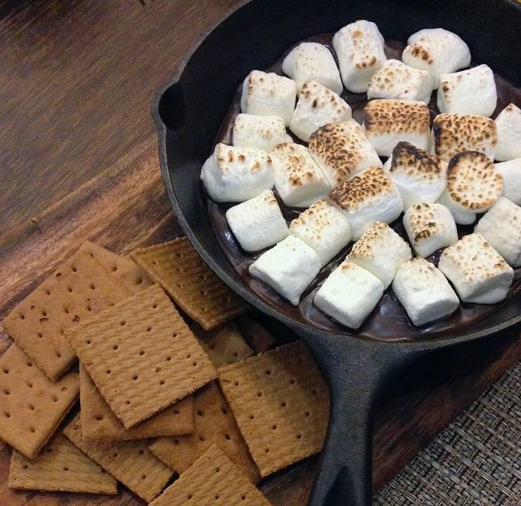 Karamelles grillezett süti
