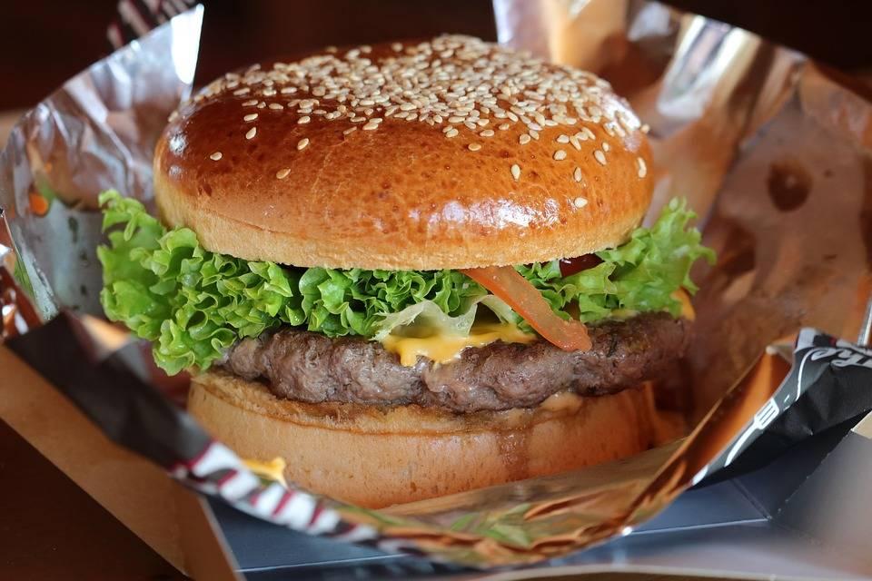 Teriyaki burger ananásszal