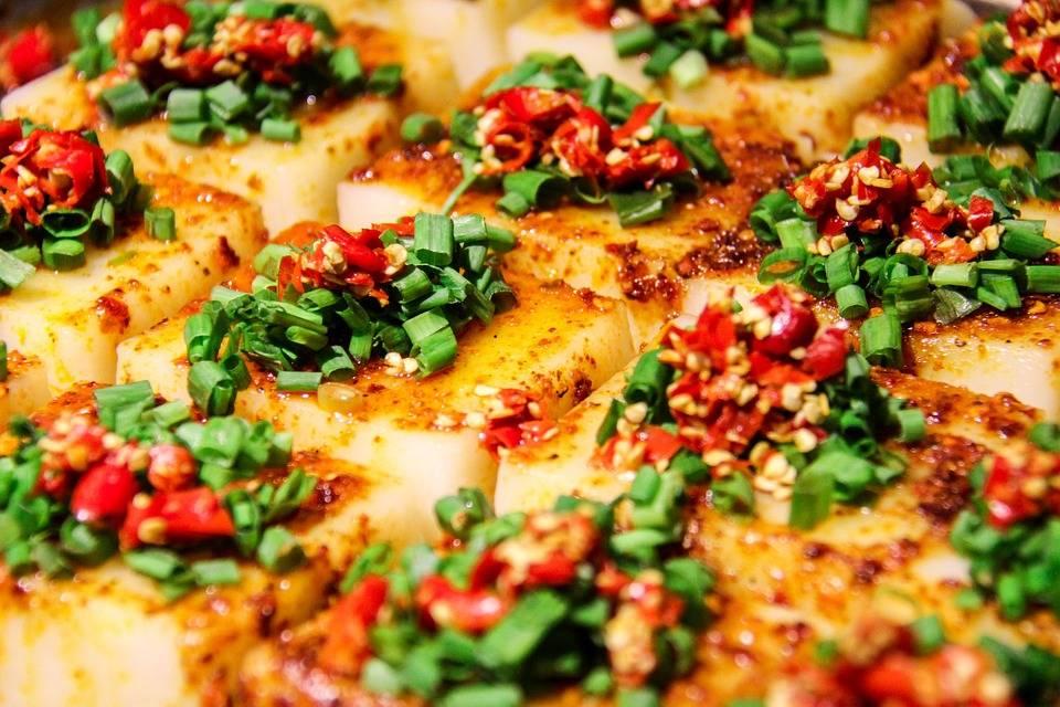 Csípős grillezett tofu
