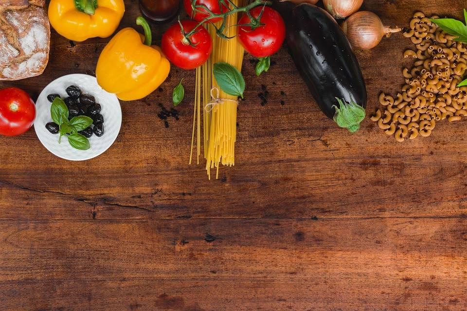 Grillezett zöldséges tészta