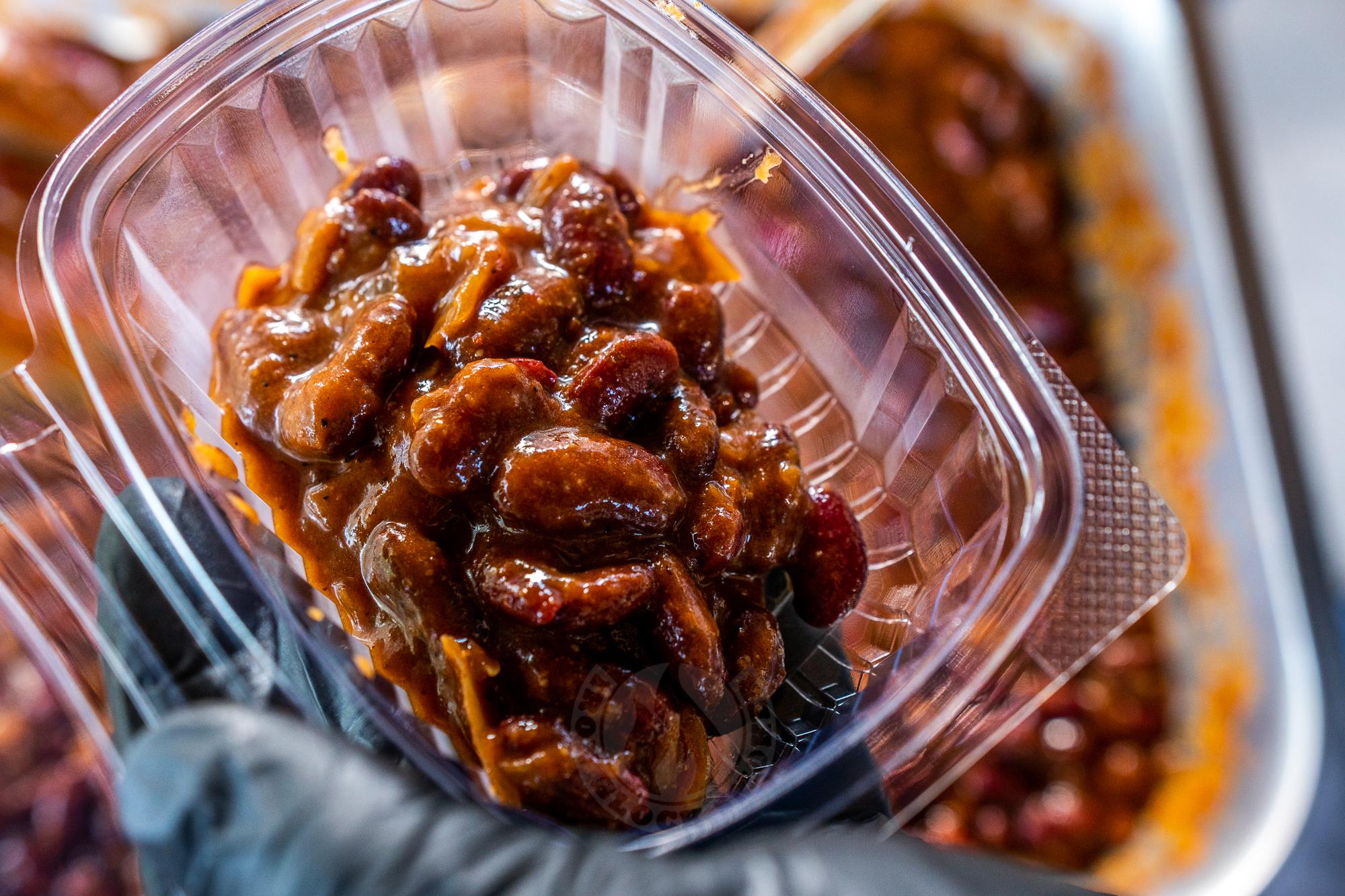 Baked bean avagy sült bab bográcsban
