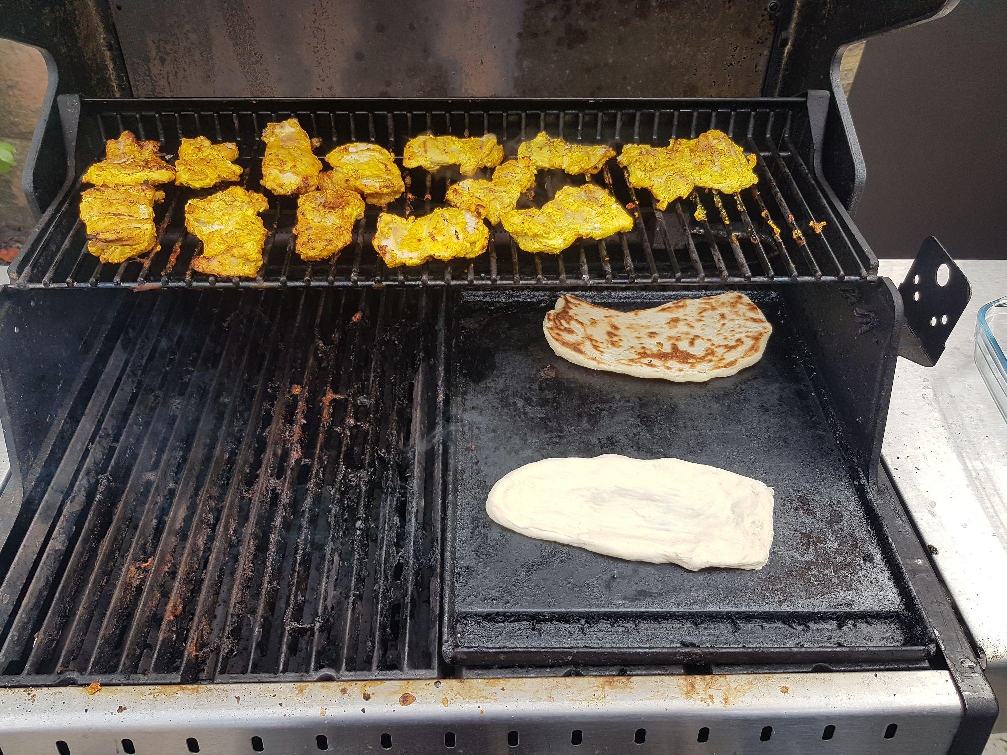 Tandoori csirke