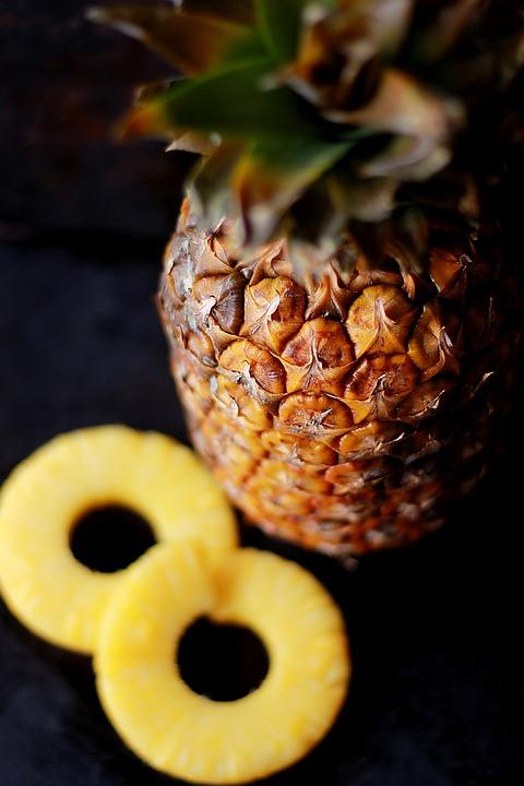 Fűszeres, grillezett ananász