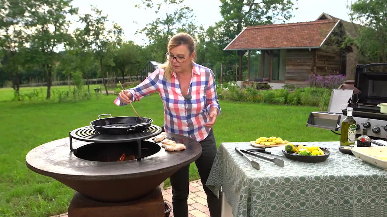 Balzsamecetes grillezett csirke Borbás Marcsi konyhájából