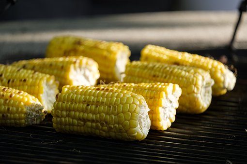 Csípős grillezett kukorica
