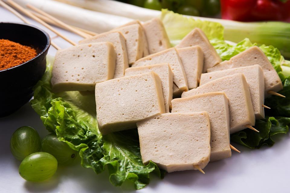Grillezett tofu chimichurri szósszal