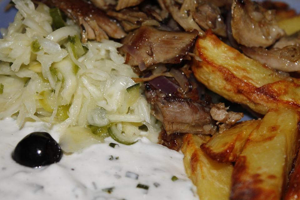 Grillezett gyros hús