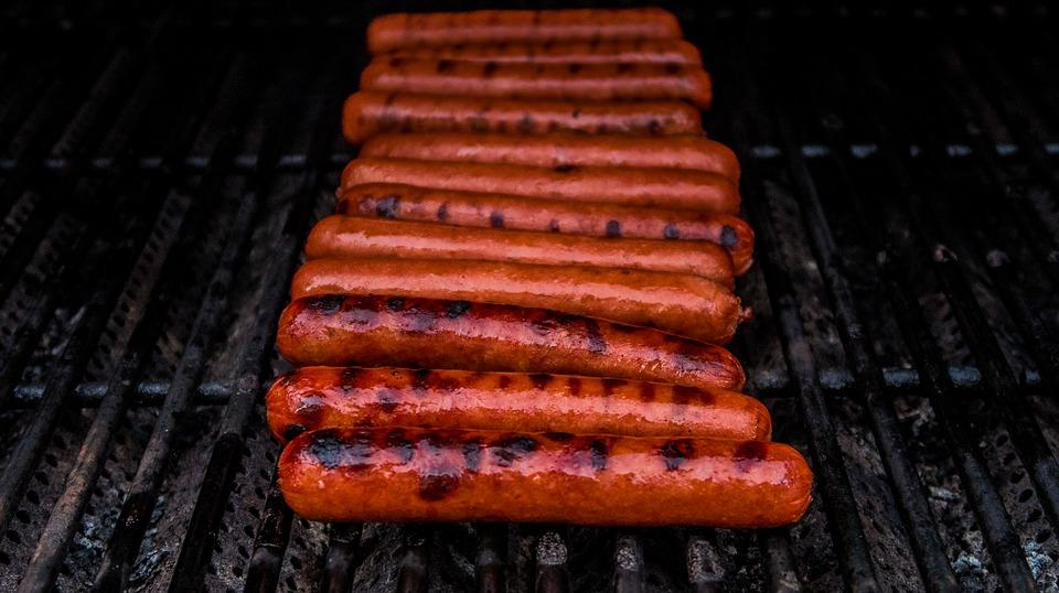 Házi mézes-mustáros hot dog