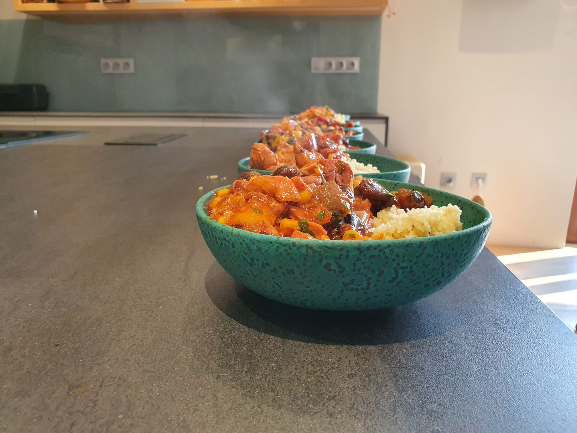 Csirke Tagine Kamado Chef grillben