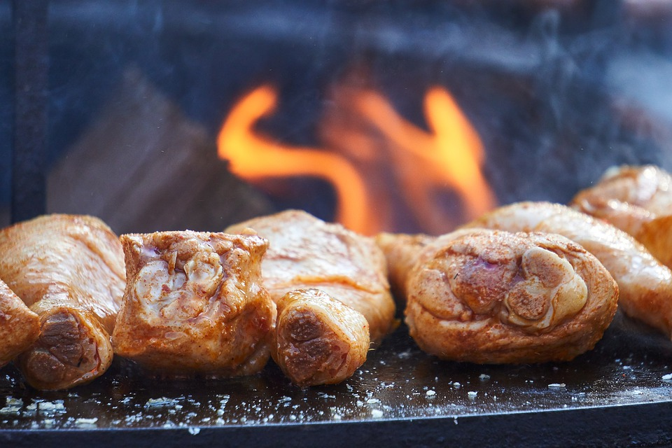 Almaecetes grillezett csirke
