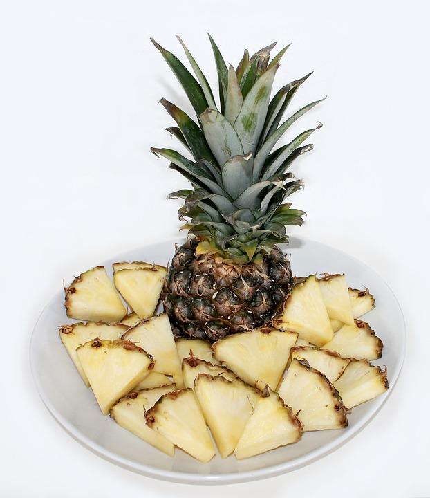 Grillezett ananász lime mártogatóssal