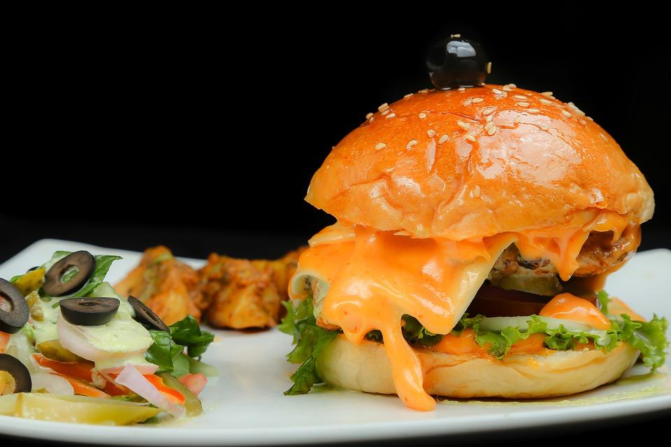 Fűszeres csirke burger