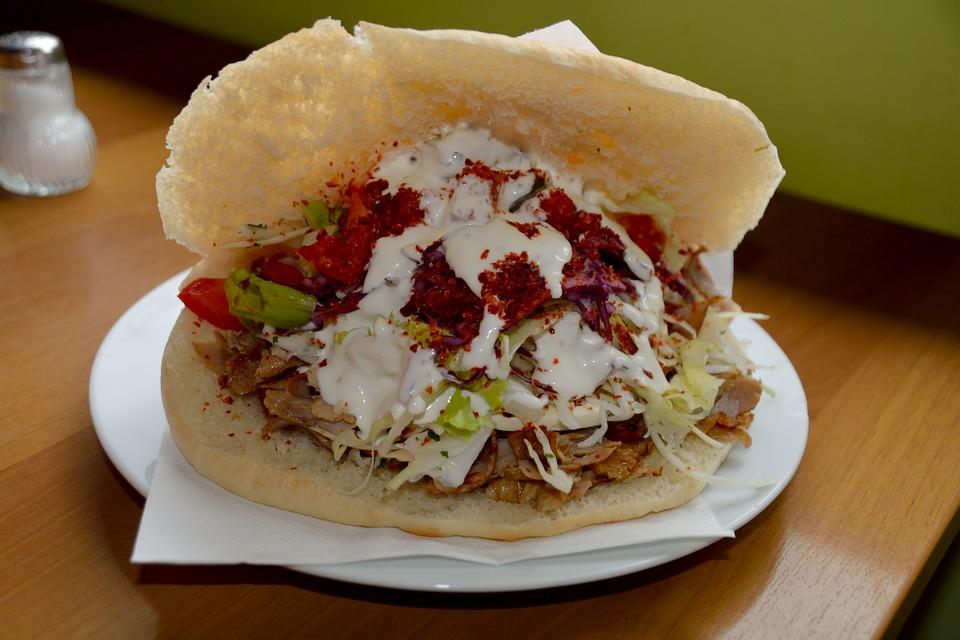 Görög burger feta szósszal