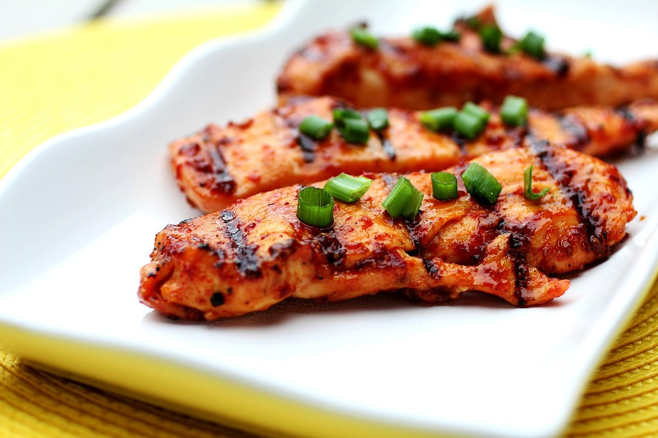 Ananászos grillezett csirke