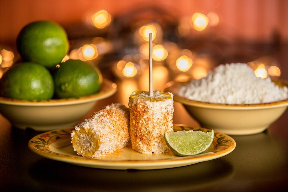 Grillezett kukorica mexikói módra