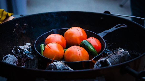 Füstös salsa a grillről