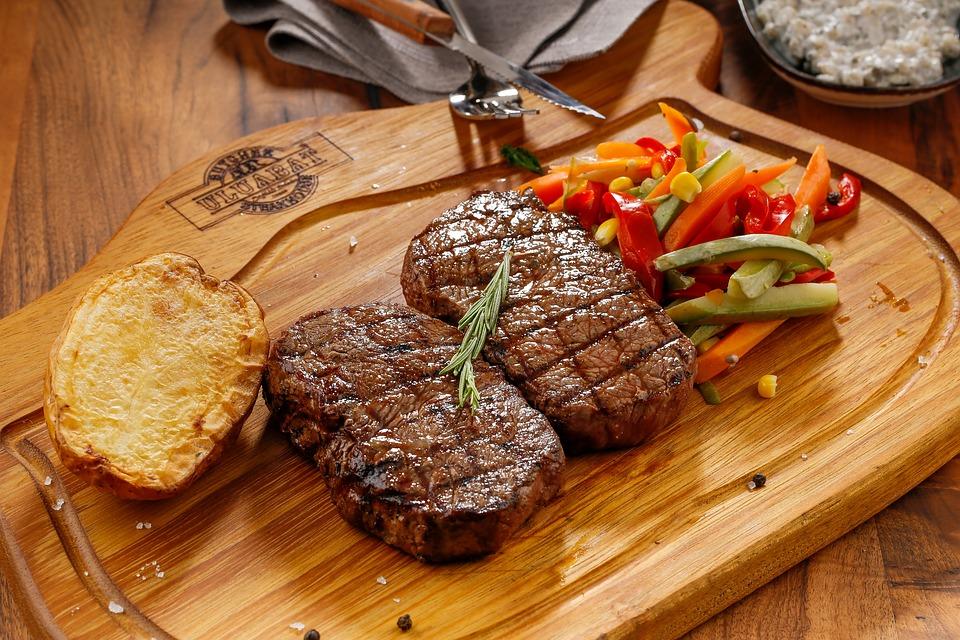 Rozmaringos marinált steak