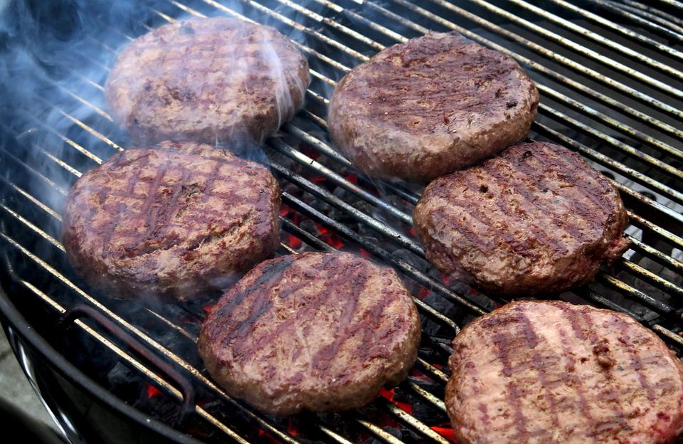 Hamburger hawaii módra