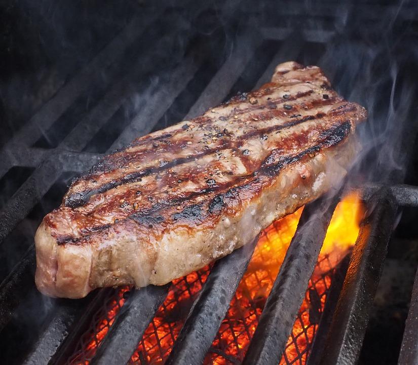 Jalapenós strip steak