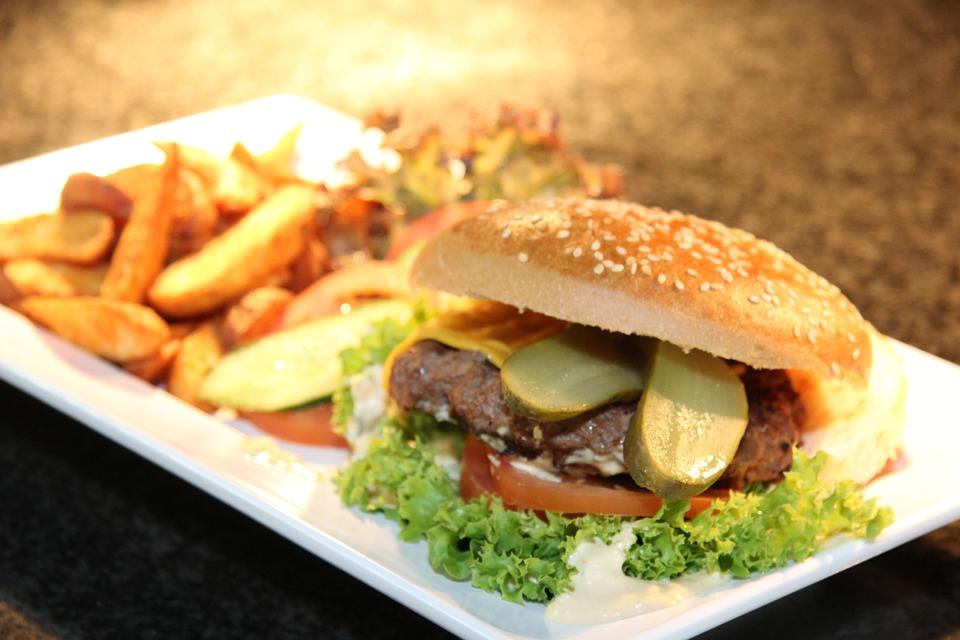 Pulyka burger avokádóval