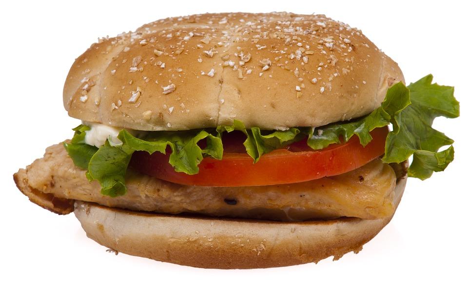 Csirkés burger miso pasztával
