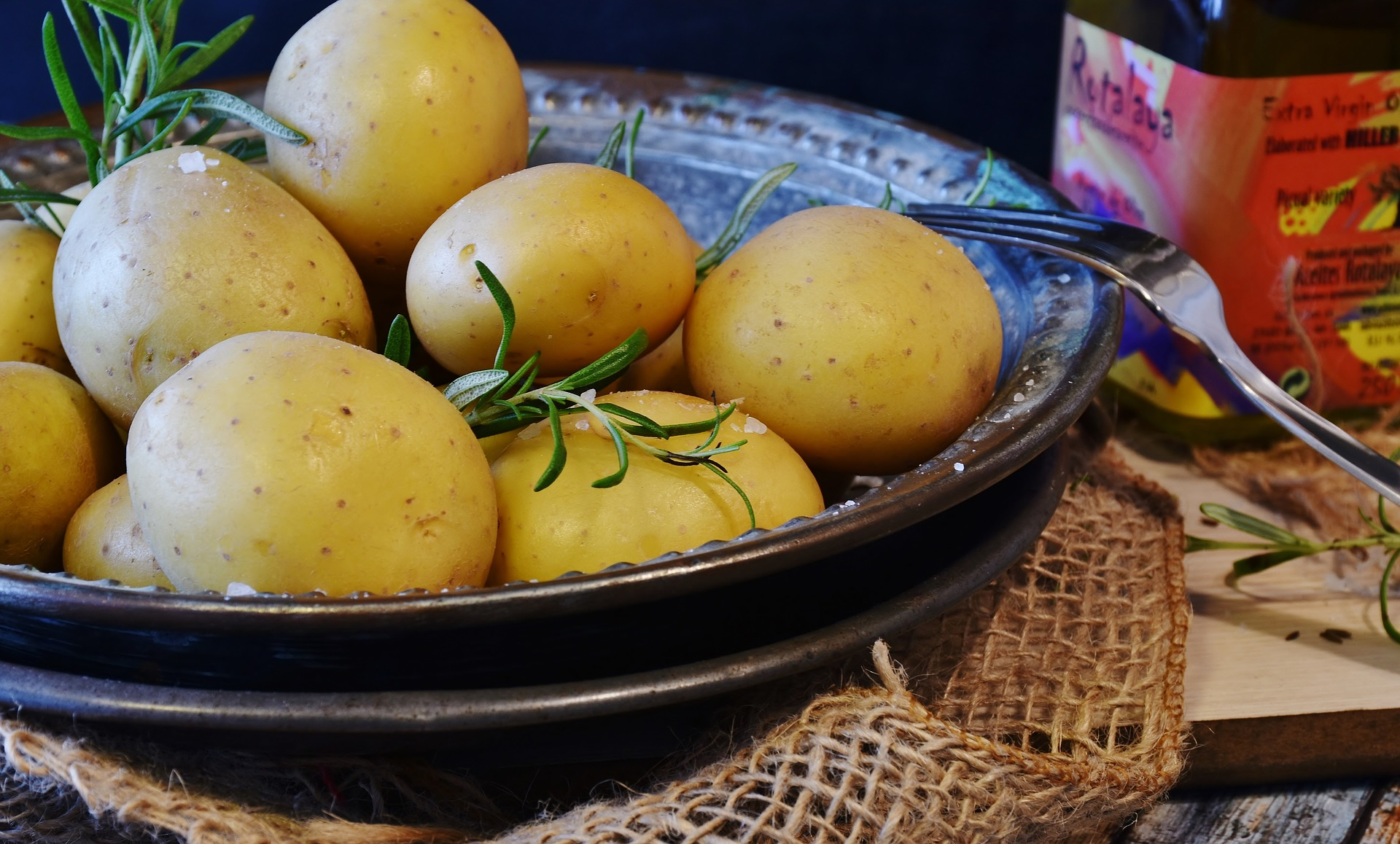 Krumpli saláta citromosan